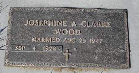 WOOD, JOSEPHINE A. - Sheridan County, Nebraska | JOSEPHINE A. WOOD - Nebraska Gravestone Photos