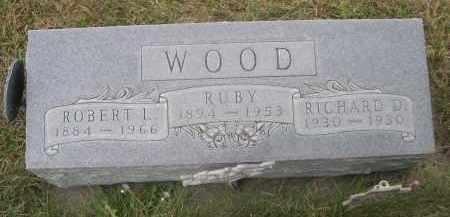 WOOD, RICHARD D. - Sheridan County, Nebraska | RICHARD D. WOOD - Nebraska Gravestone Photos