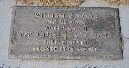 WOOD, WILLIAM V. - Sheridan County, Nebraska | WILLIAM V. WOOD - Nebraska Gravestone Photos