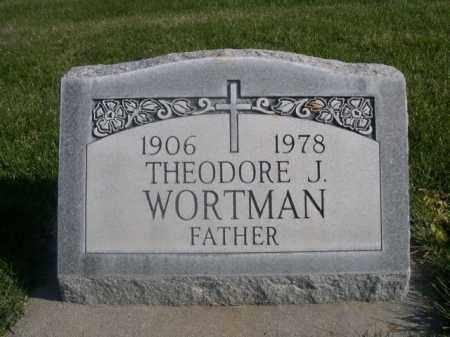 WORTMAN, THEODORE J. - Sheridan County, Nebraska | THEODORE J. WORTMAN - Nebraska Gravestone Photos
