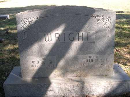 WRIGHT, WINNIE M. - Sheridan County, Nebraska | WINNIE M. WRIGHT - Nebraska Gravestone Photos