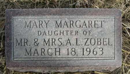 ZOBEL, MARY MARGARET - Sheridan County, Nebraska | MARY MARGARET ZOBEL - Nebraska Gravestone Photos