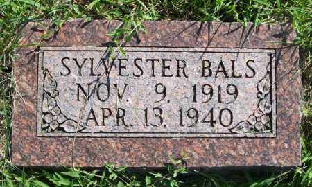 BALS, SYLVESTER - Sherman County, Nebraska | SYLVESTER BALS - Nebraska Gravestone Photos