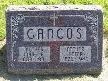GANCOS, PETER - Sherman County, Nebraska | PETER GANCOS - Nebraska Gravestone Photos