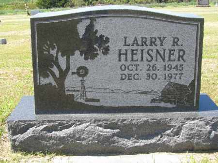 HEISNER, LARRY R. - Sherman County, Nebraska | LARRY R. HEISNER - Nebraska Gravestone Photos