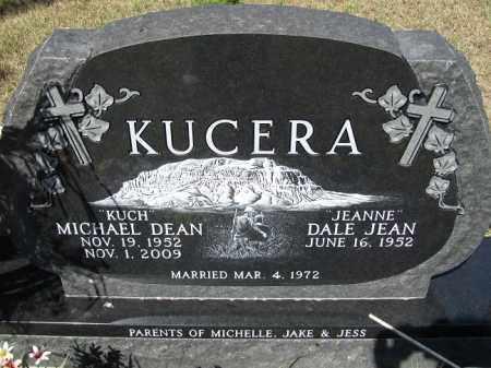 KUCERA, DALE JEAN - Sherman County, Nebraska | DALE JEAN KUCERA - Nebraska Gravestone Photos