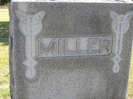 MILLER, AUGUST H. & ELIZABETH J. - Sherman County, Nebraska | AUGUST H. & ELIZABETH J. MILLER - Nebraska Gravestone Photos