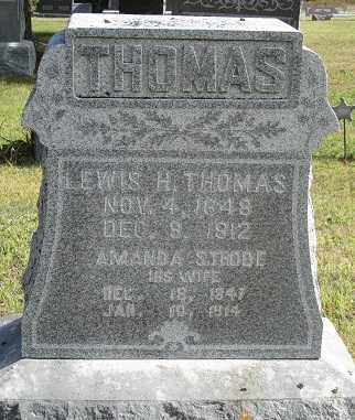 THOMAS, AMANDA - Sherman County, Nebraska | AMANDA THOMAS - Nebraska Gravestone Photos