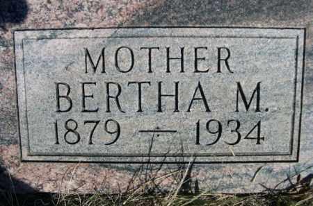 ADAMS, BERTHA M. - Sioux County, Nebraska   BERTHA M. ADAMS - Nebraska Gravestone Photos