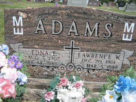 ADAMS, EDNA E. - Sioux County, Nebraska | EDNA E. ADAMS - Nebraska Gravestone Photos