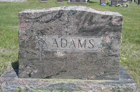 ADAMS, FAMILLY - Sioux County, Nebraska   FAMILLY ADAMS - Nebraska Gravestone Photos