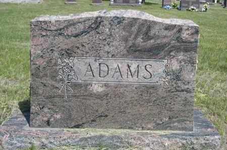 ADAMS, FAMILLY - Sioux County, Nebraska | FAMILLY ADAMS - Nebraska Gravestone Photos