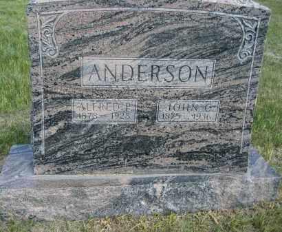 ANDERSON, ALFRED P. - Sioux County, Nebraska | ALFRED P. ANDERSON - Nebraska Gravestone Photos