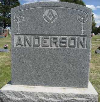 ANDERSON, FAMILLY - Sioux County, Nebraska | FAMILLY ANDERSON - Nebraska Gravestone Photos
