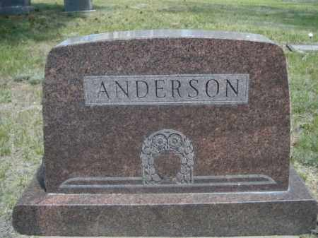 ANDERSON, FAMILY - Sioux County, Nebraska | FAMILY ANDERSON - Nebraska Gravestone Photos