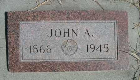 ANDERSON, JOHN A. - Sioux County, Nebraska | JOHN A. ANDERSON - Nebraska Gravestone Photos
