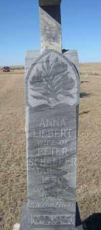 SCHAEFER, ANNA - Sioux County, Nebraska | ANNA SCHAEFER - Nebraska Gravestone Photos