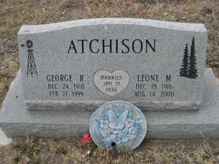 ATCHISON, GEORGE R. - Sioux County, Nebraska | GEORGE R. ATCHISON - Nebraska Gravestone Photos