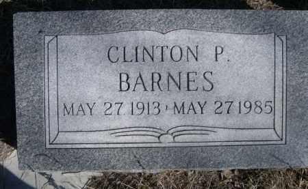 BARNES, CLINTON P. - Sioux County, Nebraska | CLINTON P. BARNES - Nebraska Gravestone Photos