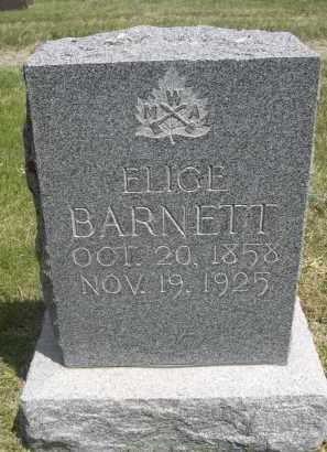 BARNETT, ELICE - Sioux County, Nebraska | ELICE BARNETT - Nebraska Gravestone Photos