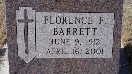 BARRETT, FLORENCE F. - Sioux County, Nebraska | FLORENCE F. BARRETT - Nebraska Gravestone Photos