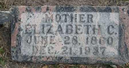 BIGELOW, ELIZABETH C. - Sioux County, Nebraska   ELIZABETH C. BIGELOW - Nebraska Gravestone Photos