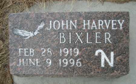 BIXLER, JOHN HARVEY - Sioux County, Nebraska | JOHN HARVEY BIXLER - Nebraska Gravestone Photos