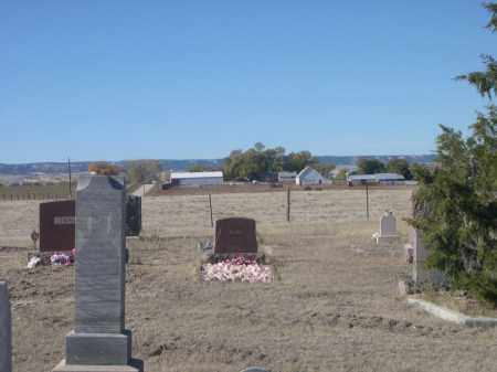*BODARC CEMETEREY, VIEW FROM - Sioux County, Nebraska | VIEW FROM *BODARC CEMETEREY - Nebraska Gravestone Photos