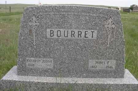 BOURRET, JAMES F. - Sioux County, Nebraska | JAMES F. BOURRET - Nebraska Gravestone Photos
