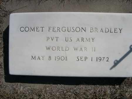 BRADLEY, COMET FERGUSON - Sioux County, Nebraska | COMET FERGUSON BRADLEY - Nebraska Gravestone Photos