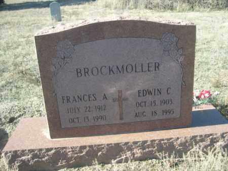 BROCKMOLLER, EDWIN C. - Sioux County, Nebraska | EDWIN C. BROCKMOLLER - Nebraska Gravestone Photos