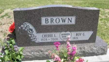 BROWN, ROY G. - Sioux County, Nebraska | ROY G. BROWN - Nebraska Gravestone Photos