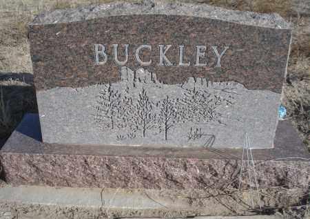 BUCKLEY, FAMILY STONE - Sioux County, Nebraska | FAMILY STONE BUCKLEY - Nebraska Gravestone Photos