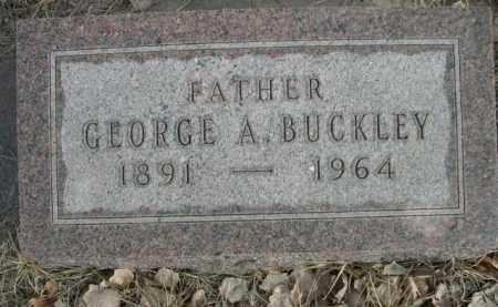 BUCKLEY, GEORGE A. - Sioux County, Nebraska | GEORGE A. BUCKLEY - Nebraska Gravestone Photos