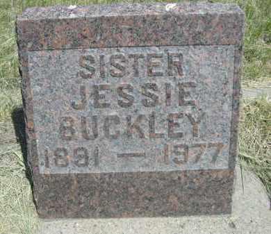 BUCKLEY, JESSIE - Sioux County, Nebraska | JESSIE BUCKLEY - Nebraska Gravestone Photos