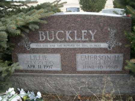 BUCKLEY, EMERSON H. - Sioux County, Nebraska   EMERSON H. BUCKLEY - Nebraska Gravestone Photos