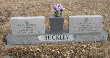 BUCKLEY, OPLE - Sioux County, Nebraska   OPLE BUCKLEY - Nebraska Gravestone Photos
