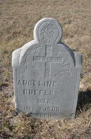 BUFFER, ANGELINE - Sioux County, Nebraska | ANGELINE BUFFER - Nebraska Gravestone Photos