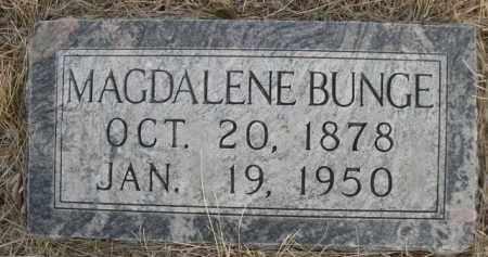 BUNGE, MAGDALENE - Sioux County, Nebraska   MAGDALENE BUNGE - Nebraska Gravestone Photos