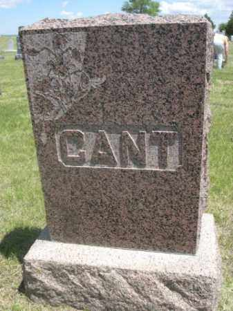 CANT, FAMILY - Sioux County, Nebraska | FAMILY CANT - Nebraska Gravestone Photos