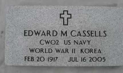 CASSELLS, EDWARD M. - Sioux County, Nebraska   EDWARD M. CASSELLS - Nebraska Gravestone Photos