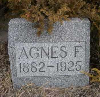 CHILDS, AGNES F. - Sioux County, Nebraska   AGNES F. CHILDS - Nebraska Gravestone Photos