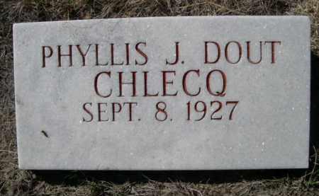 CHLECQ, PHYLLIS J. - Sioux County, Nebraska | PHYLLIS J. CHLECQ - Nebraska Gravestone Photos