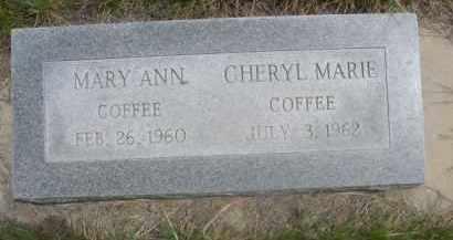COFFEE, CHERYL MARIE - Sioux County, Nebraska | CHERYL MARIE COFFEE - Nebraska Gravestone Photos