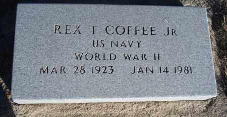 COFFEE, REX T. JR. - Sioux County, Nebraska | REX T. JR. COFFEE - Nebraska Gravestone Photos