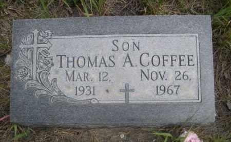 COFFEE, THOMAS A. - Sioux County, Nebraska | THOMAS A. COFFEE - Nebraska Gravestone Photos