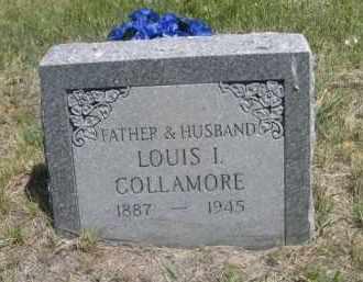 COLLAMORE, LOUIS I. - Sioux County, Nebraska | LOUIS I. COLLAMORE - Nebraska Gravestone Photos