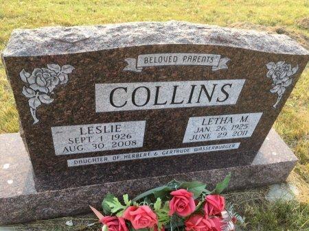 COLLINS, LESLIE - Sioux County, Nebraska | LESLIE COLLINS - Nebraska Gravestone Photos