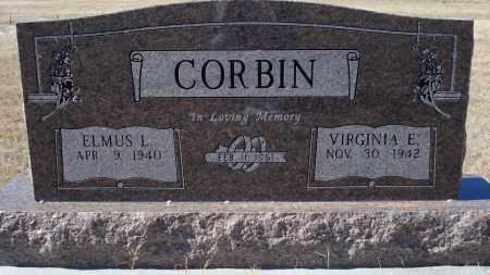CORBIN, VIRGINIA E. - Sioux County, Nebraska | VIRGINIA E. CORBIN - Nebraska Gravestone Photos