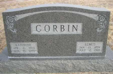 CORBIN, KATHRINE - Sioux County, Nebraska | KATHRINE CORBIN - Nebraska Gravestone Photos